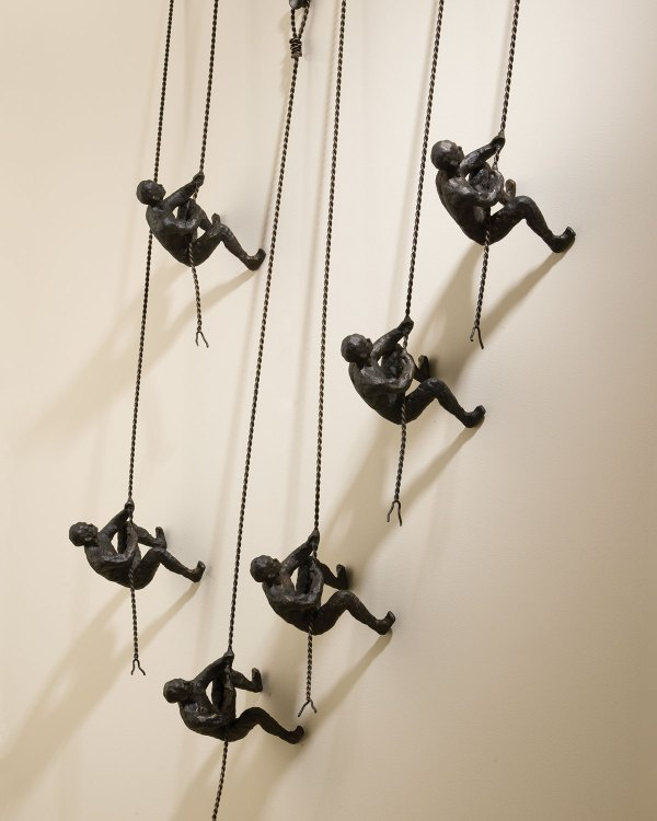 Global Views Climbing Men Wall Decor Neiman Marcus