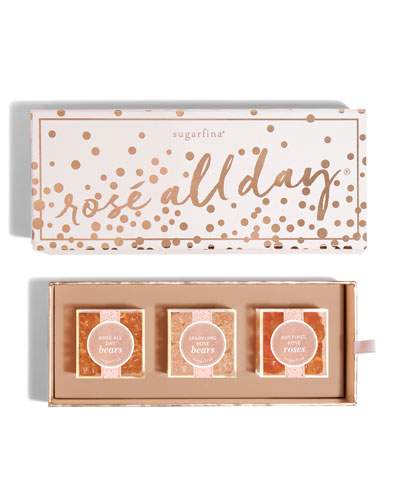 Sugarfina Rose All Day 3-Piece Bento Box