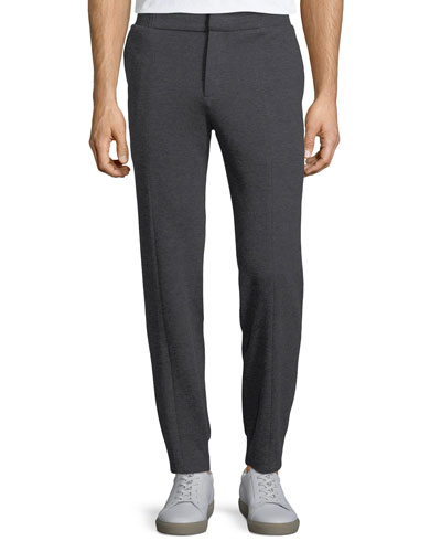 Zanella Cotton Trouser-Style Jogger Pants