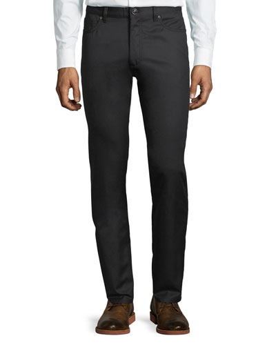 Ermenegildo Zegna Wool-Cotton Five-Pocket Pants