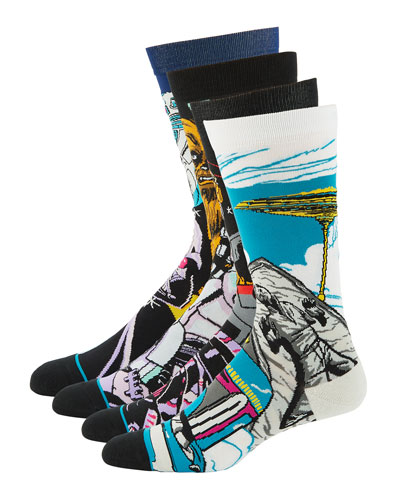 Stance Men's 4-Pack Star Wars Sock Gift Set