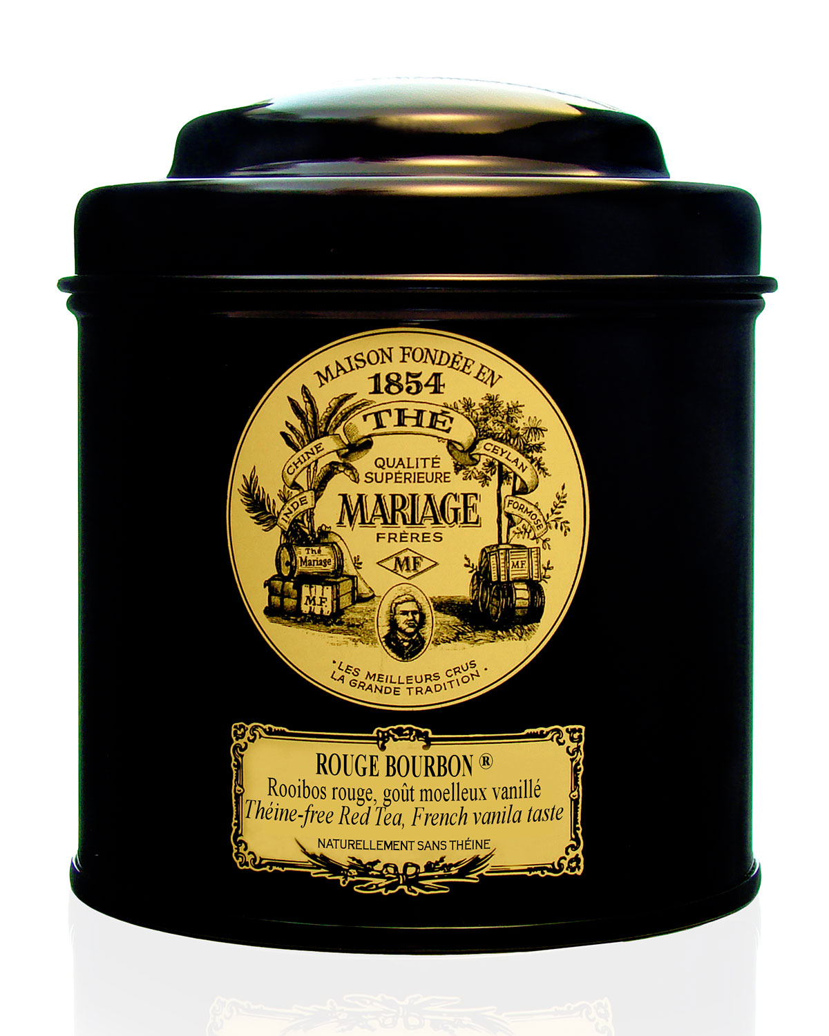 Mariage Freres International Tea Rouge Bourbon Tin