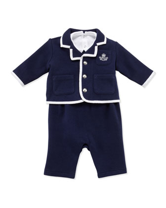 Ralph Lauren Infant Boys' 3-Piece Knit Set, 3-9 Months