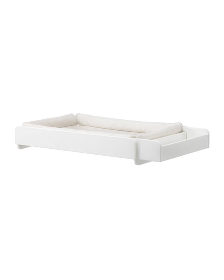 Home 153 Changer With Mattress White