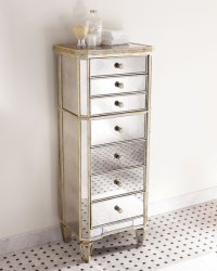 """""""Amelie"""" Mirrored Lingerie Chest"""