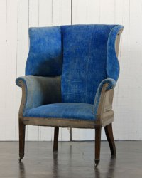 Ralph Lauren Home Hepplewhite-Style Wing Chair