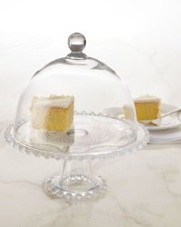 """""""Chesterfield"""" Domed Cake Plate"""