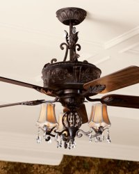 """NEW 54"""" French country Elegant ceiling fan"""