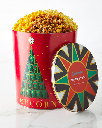Neiman Marcus NM 2018 Annual Popcorn Tin
