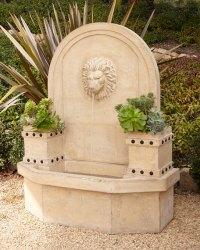 Lion-Head Wall Fountain   Neiman Marcus