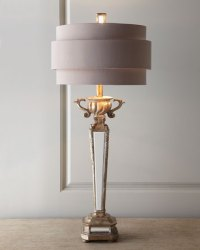 Mirrored Table Lamp | Neiman Marcus