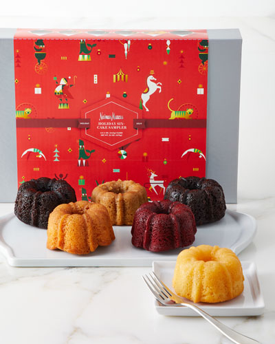 Neiman Marcus Six-Cake Holiday Sampler