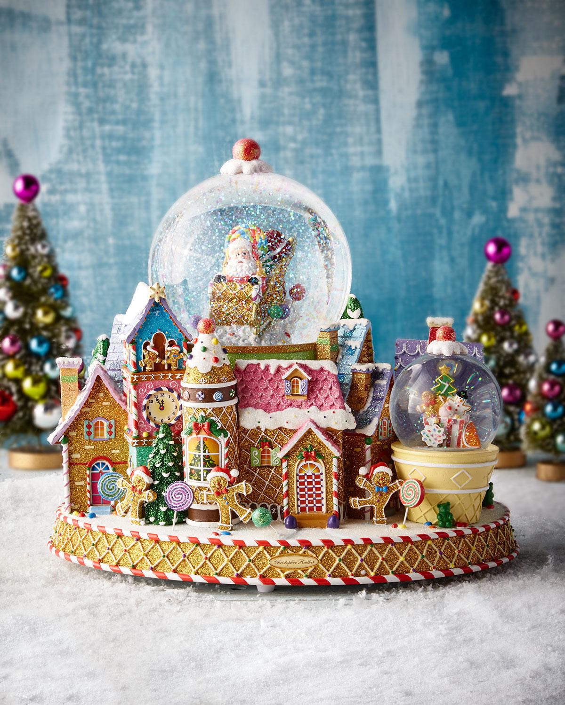 Christopher Radko Sweet Delivery Snow Globe Neiman Marcus