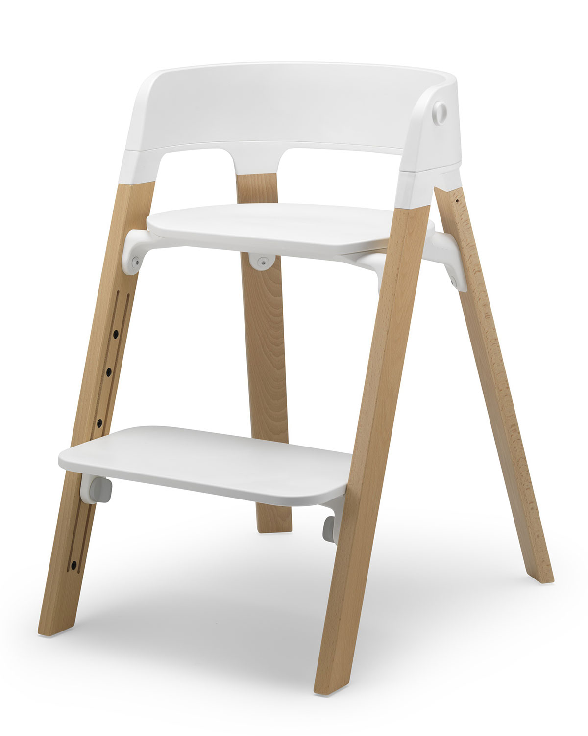 stokke high chair leather antique steps highchair neiman marcus stokkesteps