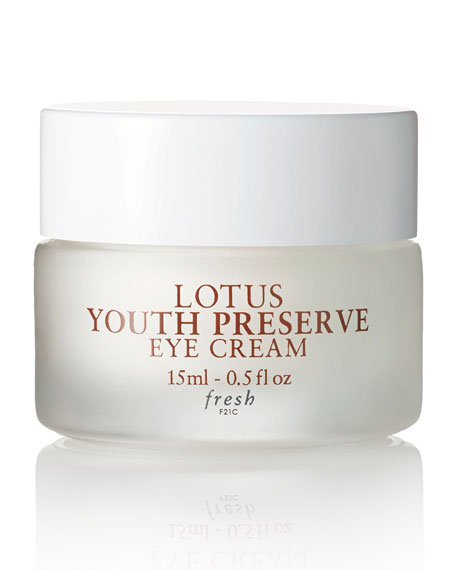 Fresh Lotus Youth Preserve Eye Cream Review