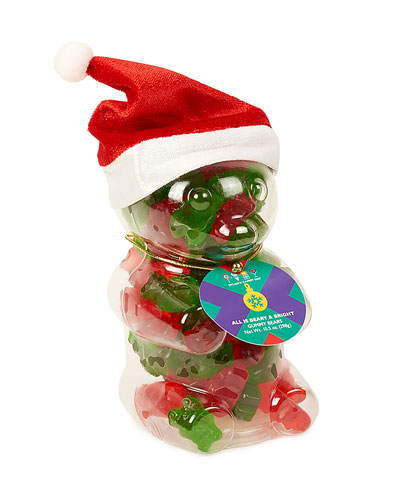 Dylan's Candy Bar Gummy Bear Santa