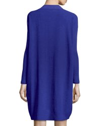 Eileen Fisher Long-Sleeve Silk Dress, Plus Size