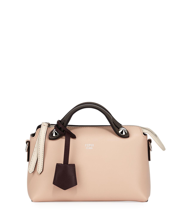Fendi By The Way Mini Calf Dolce Satchel Bag   Neiman Marcus