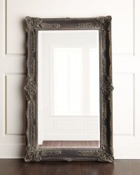 """Antique French"" Floor Mirror 