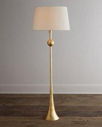 AERIN Dover Gold Floor Lamp   Neiman Marcus