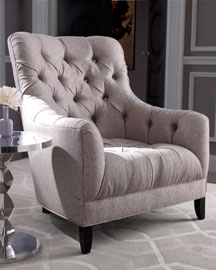 Haute House Air Mail Amp Cornell Tufted Wing Chair From