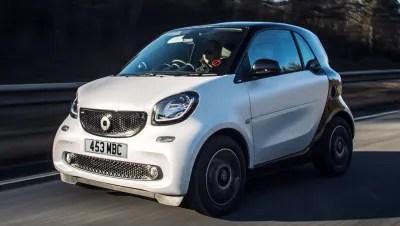 new smart cars latest