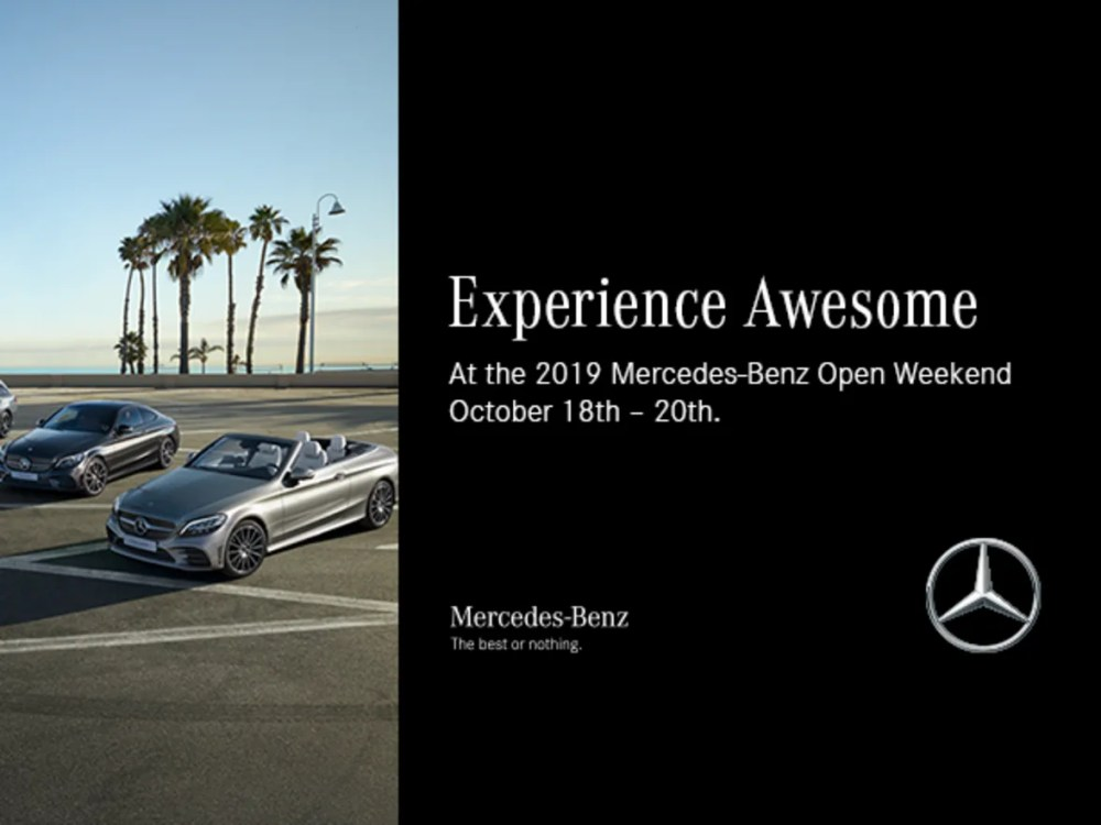 medium resolution of connolly s mercedes bezn open weekend 18th 20th october 2018