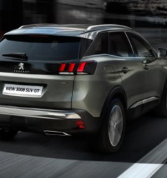 view the peugeot 3008 suv [ 1176 x 882 Pixel ]