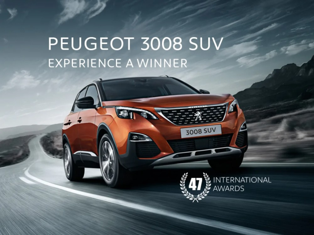 medium resolution of 3008 suv 47 international awards driver power s car of the year 2018 view vehicles in stock