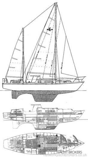 Amel Euros 41 1976 Cruising Yacht For Sale in Lefkas