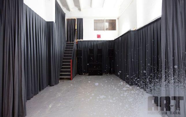 Aluguel cortinas e cortinas para o teatro e eventos