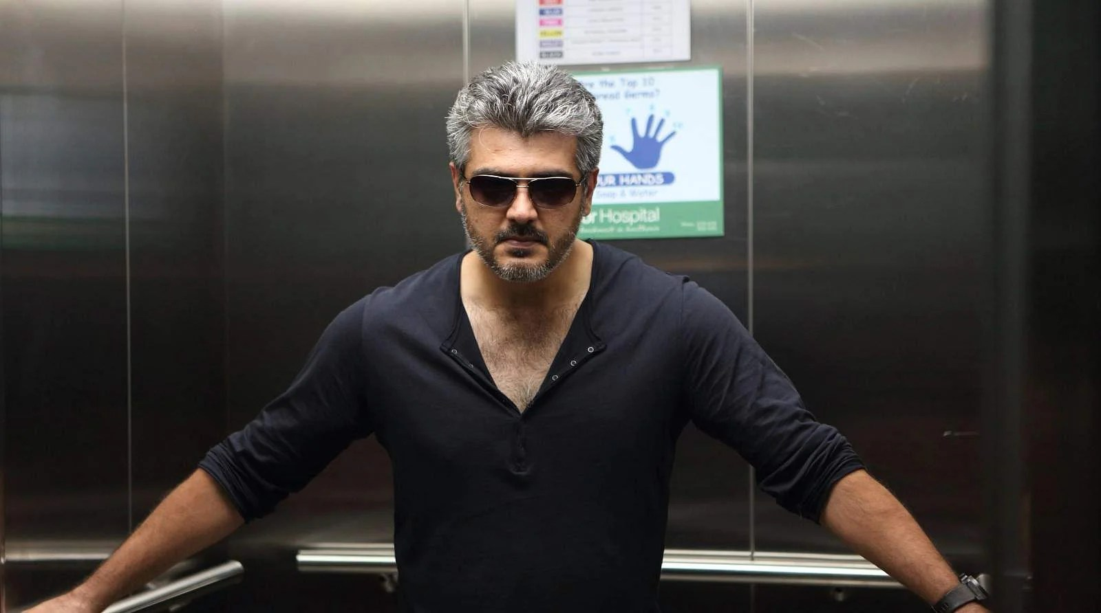 Ajiths new look wins hearts The New Indian Express