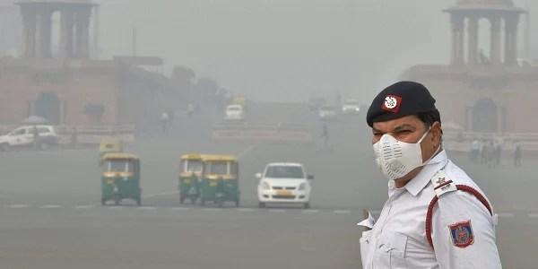 Resultado de imagen para india Delhi smoke