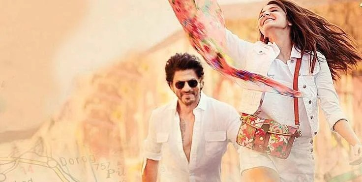 Image result for shahrukh khan anushka sharma jab harry met sejal