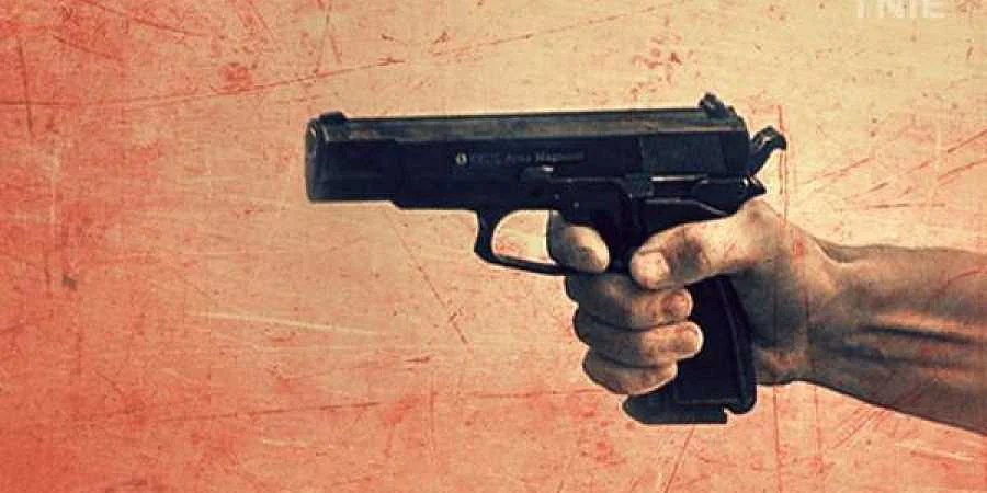 Image result for gun shoot murder images