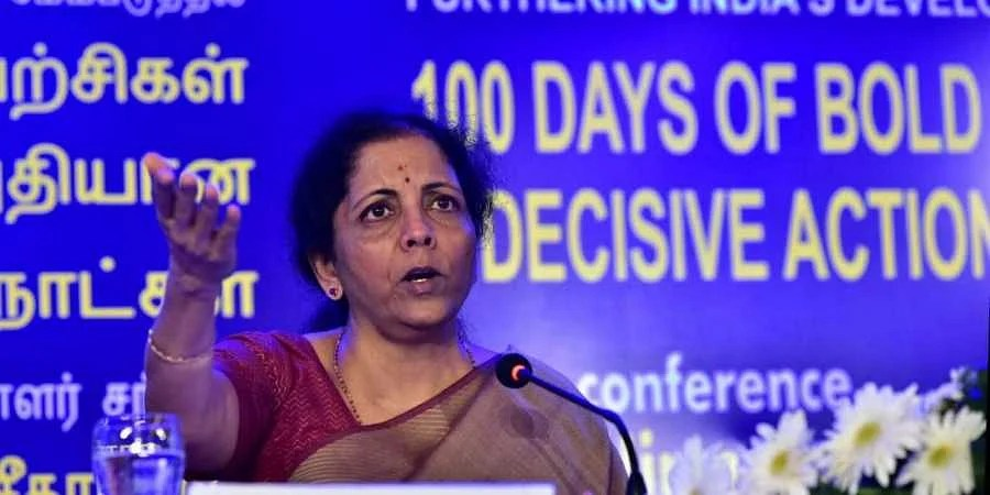 Image result for Twitter trolls Nirmala Sitharaman's 'mindset of millennials' remarks cartoon