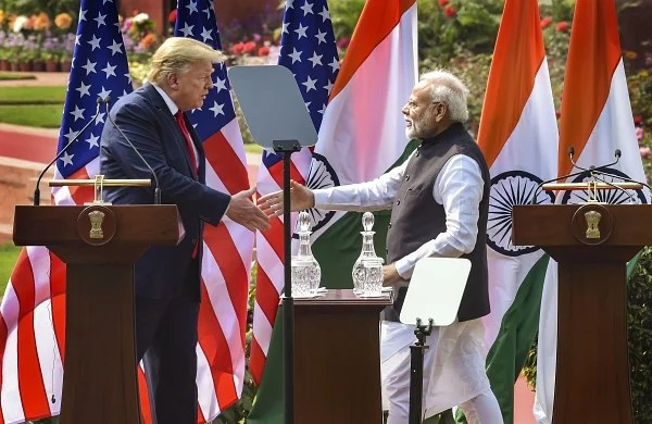 America loves India:Trump after PM Modi's tweet on US'244th Independence Day
