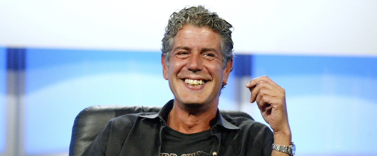 anthony bourdain kitchen confidential outdoors profile: parts unknown host is the ...