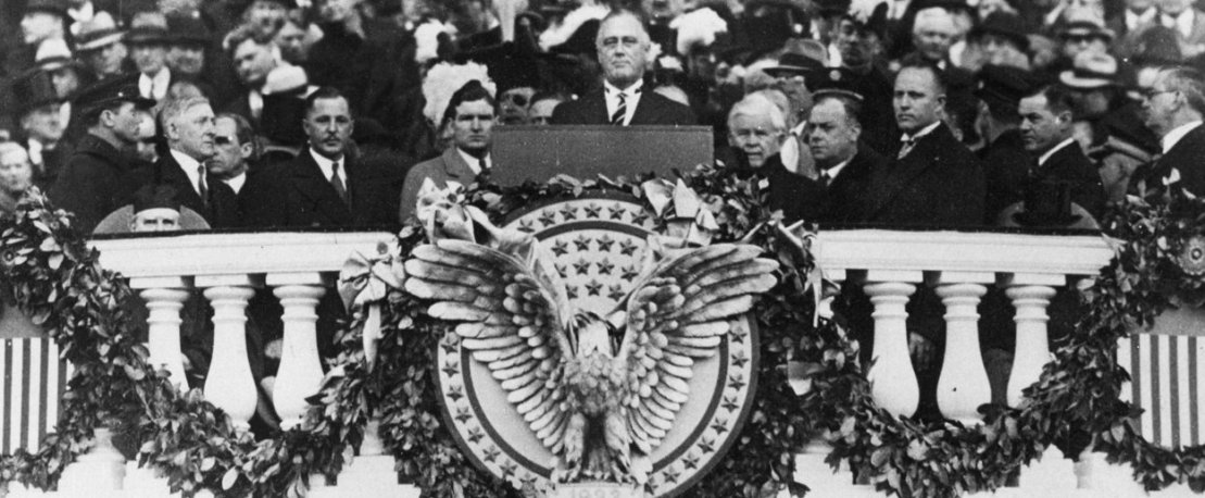The Inauguration of Franklin Delano Roosevelt  The New