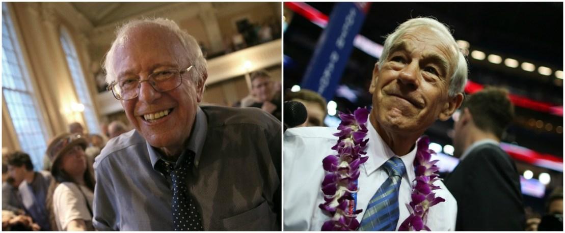 Bernie Sanders Is Not The Left S Ron Paul The New Republic