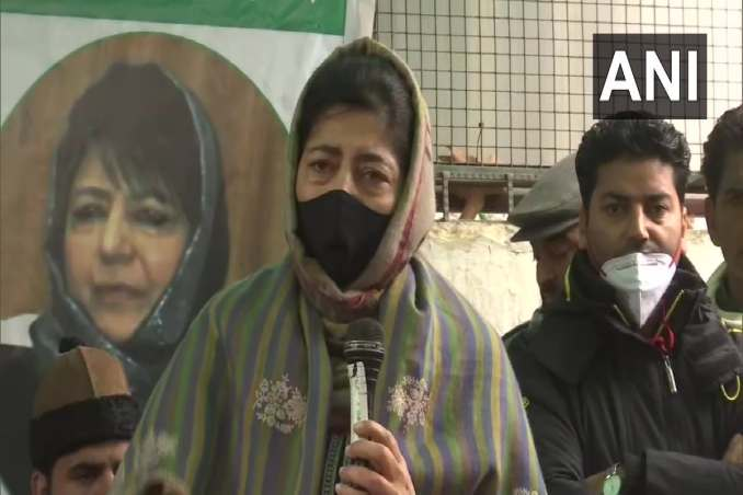Jammu and Kashmir: Mehbooba Mufti said that making Jammu and Kashmir a bridge of peace between India and Pakistan is the agenda of the PDP.