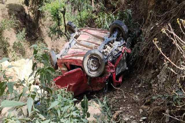हिमाचल प्रदेश के सरमार जिले में सड़क दुर्घटना
