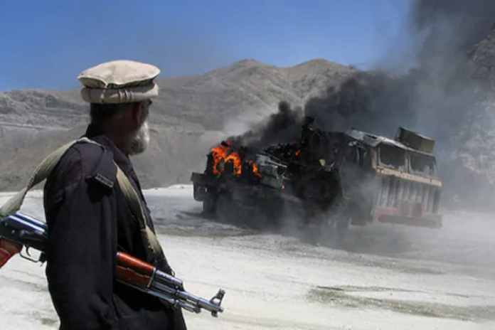 attack on Chinese people in Pakistan