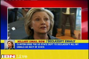 Hillary Clinton urges US State Department to expedite release of her emails