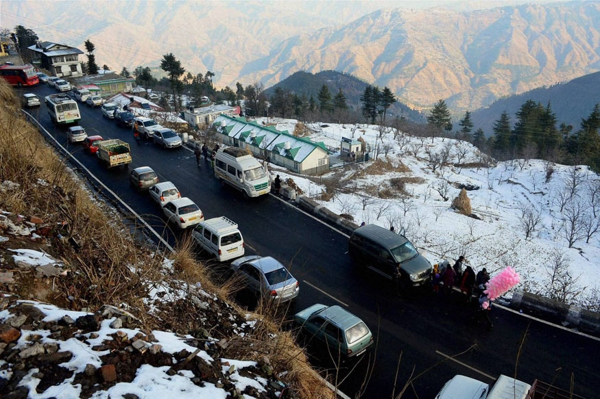 Traffic in Himachal Pradesh