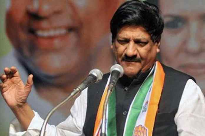 File photo of senior Congress leader Prithviraj Chavan.