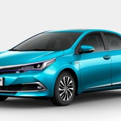 All New Corolla Altis 2020 Vs Skoda Octavia 2019 Toyota Plug In Hybrid Showcased Beijing Electric C Hr To Launch