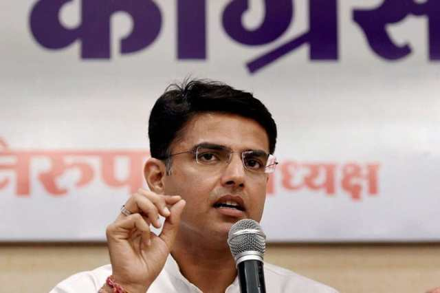 File photo of Sachin Pilot.