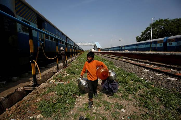 These Children Take a Train to Collect Water 7