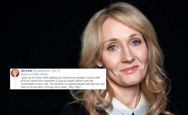 What About Trans Rights Jk Rowling Draws Flak For